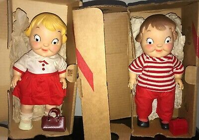 Campbell's Soup Kids Boy And Girl Doll New In Box
