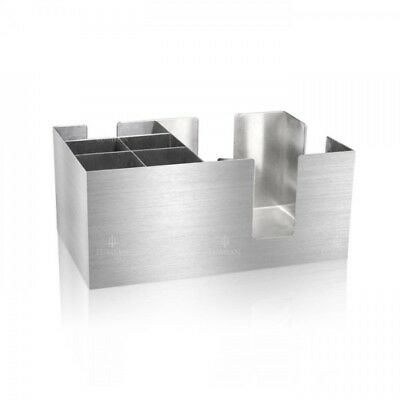 Bar Caddy Silver Inox Angelia Bartender Cocktail