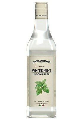 Syrup Peppermint White Odk Orsa Drink Syrup for Cocktail Barman