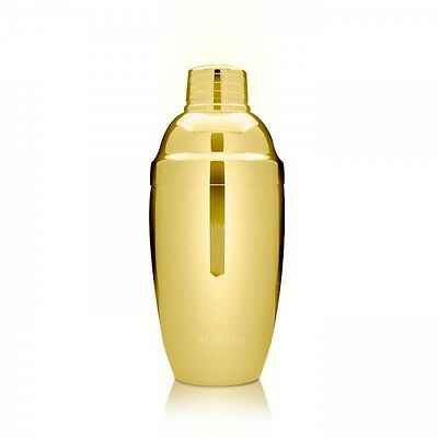 Osaki 500 Cocktail Shaker 500 ML Gold Professional Barman Style