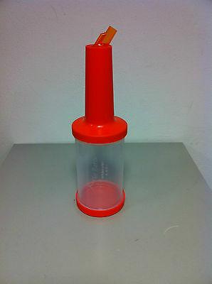 Speed Bottle Scoop 100 CL Orange Equipment Barman the Bars