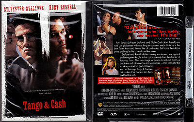 DVD Sylvester Stallone TANGO & CASH Kurt Russell cop SNAPCASE WS+FS R1 OOP NEW