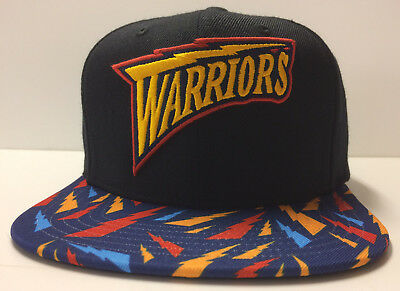 check out b55b1 dee7e Golden State Warriors Mitchell   Ness Snapback Hat Cap Curry Rookie