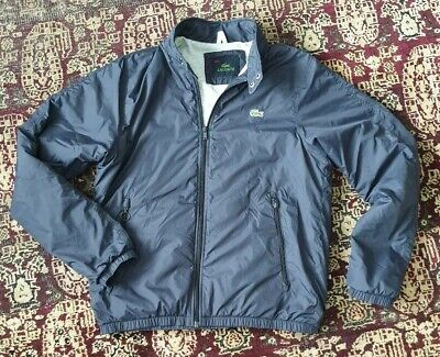 8fb7b13fa9 Lacoste Devanlay Jacket Mens. Size Small / Med. Blue. Lacoste Shower proof.
