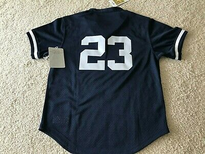 90bf1e07a NWT MITCHELL & NESS New York Yankee Don Mattingly BATTING PRACTICE JERSEY  Med