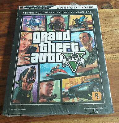 Guide GTA GRAND THEFT AUTO V 5 PS4 / Xbox ONE Neuf Sous Blister VF