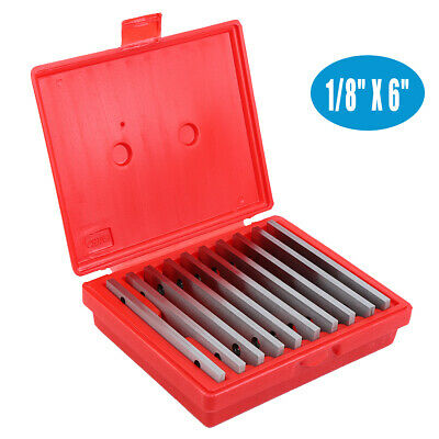 """20Pairs Precision Thin Parallel Set 1/8"""" Suit For Milling Or Marking 0.0002"""""""