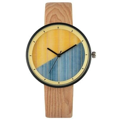 Unisex Elegant Quartz Watch Leather Band Pin Buckle Analog Wristwatch Gifts