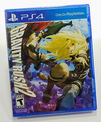 Gravity Rush 2 (Sony PlayStation 4, 2017) Brand New Factory Sealed for PS4
