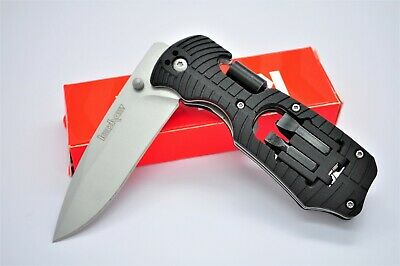 NEW Kershaw 1920 Pocket Knife Select Fire Multi Tool Folding Camping Fishing