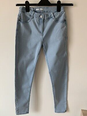 Girls marks and spencer Age 13-14 Light Blue Skinny Jeans M&S