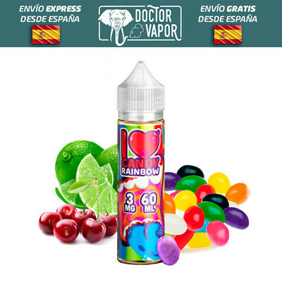 Liquido Vapear Mad Hatter I Love Candy Rainbow 50Ml