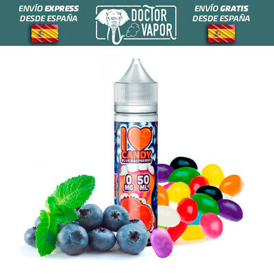 Liquido Vapear Mad Hatter I Love Candy Blue Raspberry 50Ml