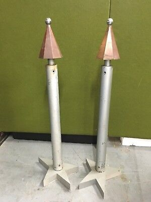 Unique Circus Memorabilia  Vintage Antique Posts Pillars