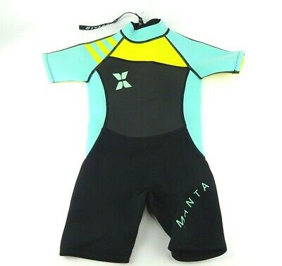 959826579abc Dark Lightning Kids Wetsuit, 2mm Neoprene Thermal Swimsuit, Youth Boy's and  Girl