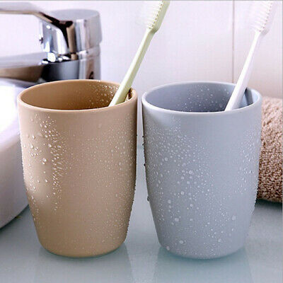 Home Lover Bathroom Portable Tooth Mug Toothbrush Holder Tumbler Toothpaste Cup