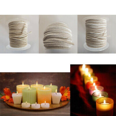 Wax Candle Candlestick Cotton Wick Cord DIY Oil Lamp Making Supplies Parts Tool