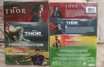 """THE THOR COLLECTION TRILOGY"" DVD. Box 1,2,and 3. Brand New"