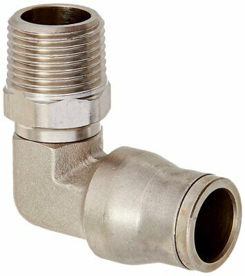 Parker 169PLM-12M-6R Prestolok PLM Metal Push-to-Connect Fitting Tube To Pipe