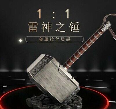 The Avengers 1:1 Thor Hammer Replica ABS Stand Base Cosplay Props Dispaly Gift