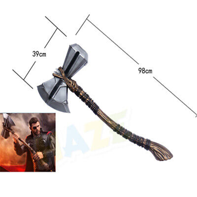 Avengers Infinity War Thor Stormbreaker Axe Cosplay Handmade 1:1 Prop Collection