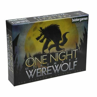One Night Ultimate Werewolf - New Party Board Game - Bezier Games - Brand New !