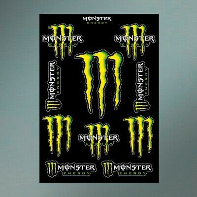 Planche stickers MONSTER ENERGY DRINK