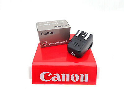 "Canon Ttl Hot Shoe Adapter 2 Analog "" Canon Dealer """