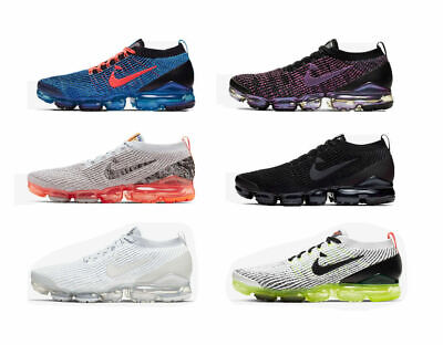 2019 Mens VaporMax Flyknit 3 Sneakers Running Sports Designer Trainer Shoes