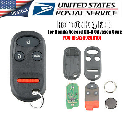 Replacement For Honda Accord CR-V Civic Odyssey Keyless Entry Remote Key Fob