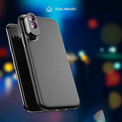 Phone Lens Wide Macro Fisheye Camera Lens with Case For iPhone XS Max