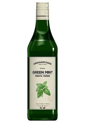 Syrup Peppermint Green Odk Orsa Drink Syrup for Cocktail Barman