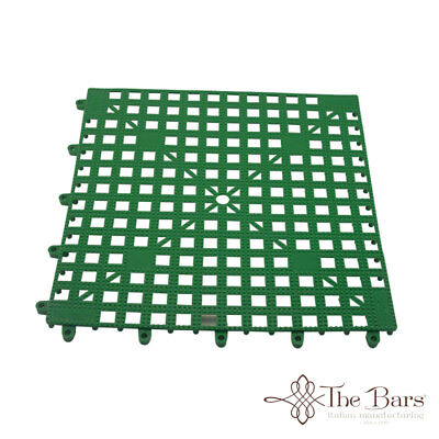 Bar Mat Coasters for bar Interlocking Green Colour