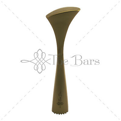 Pestle Ergonomic Knurled Gold-Attachments Barman