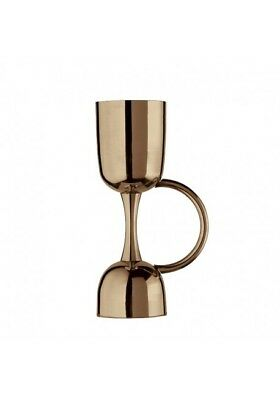 Coley Jigger Steel Vintage Stainless 25 ML - 50ml Barman Cocktail