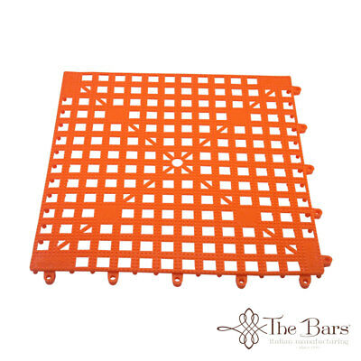 Bar Mat Coasters for bar Interlocking Orange Colour