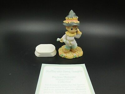 "Htf 2003 Precious Moments ""Stuffed With Loving Care"" Wizard Of Oz Collection"