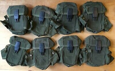 Lot of 8 US Military Army USMC Ammo Case 30 round M16 Rifle LC1 Alice Mag Pouch