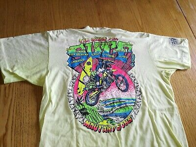 MAUI & SONS-Surf T Shirt-Rare and vintage 80'