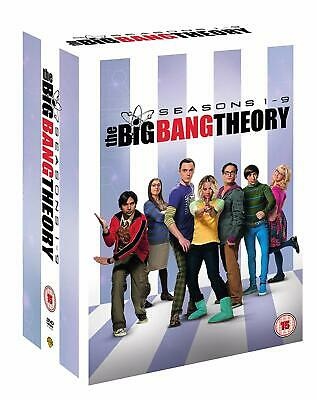 The Big Bang Theory Seasons 1-9 [DVD] New Sealed UK Region 2 - Johnny Galecki