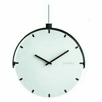 Guzzini 16860311 Montre Pivotant Move Your Time 25 cm Blanc