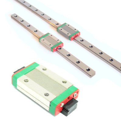 MGN12H Bearing Block Carriage + MGN12 Linear Rail 250mm 500mm for CNC