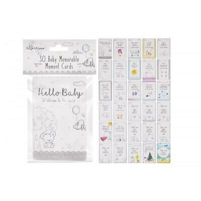 First Steps Baby memorable moment cards