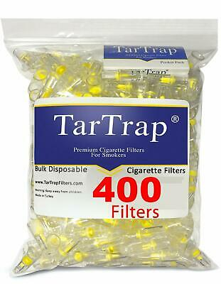 Advanced Technology Disposable Cigarette Filters Bulk Economy Pack 400 Filters