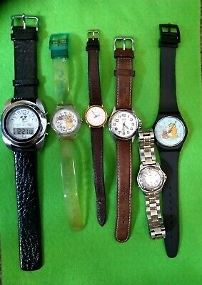 Wristwatches Watches Joblot Some Working Products Are Sold Without Limitations Watches, Parts & Accessories