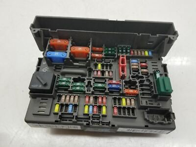 Bmw E30 Fuse Box Fusebox With Relays And Cover 3 Series 60 00