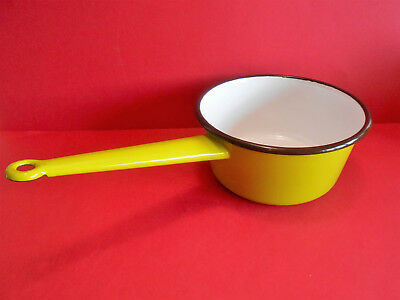 Casserole Vintage Tole Emaillee / Stock Ancien /  Enemalled Pan