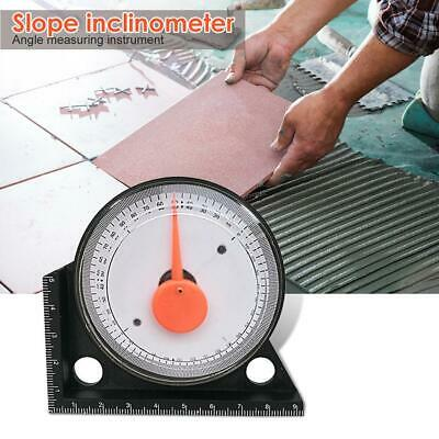 Slope Inclinometer Adjust Angle Finder Measuring Protractor Clinometer Guage