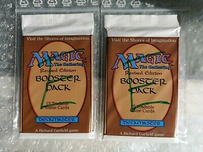2x Summer Magic/Revised Booster OVP ungeöffnet & unsearched 100% original Magic