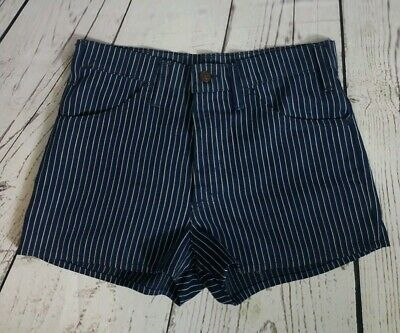 Vintage 60s Levi's Sta-Prest Big E Striped Shorts